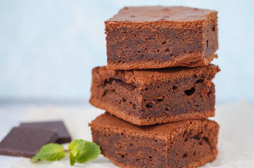 Fondant chocolat au potiron et crème de marron