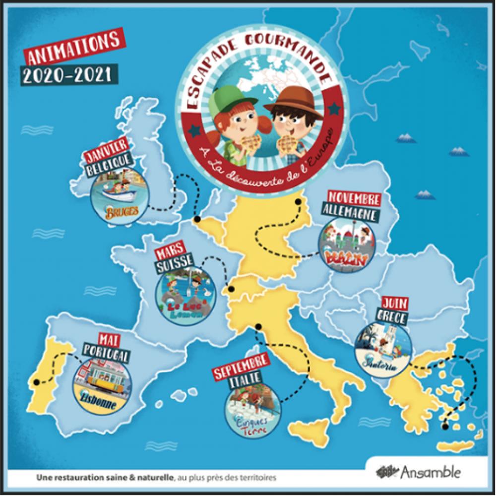 A la découverte de l'Europe