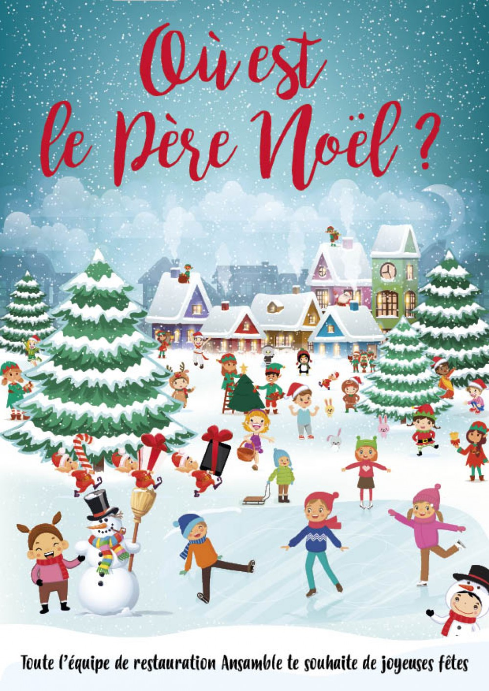 Où est le Père Noël ?